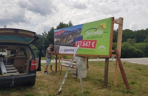 Billboardy - reklamné plochy