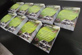 Letáky, katalógy, brožúry